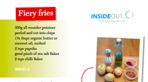 Fiery fries recipe