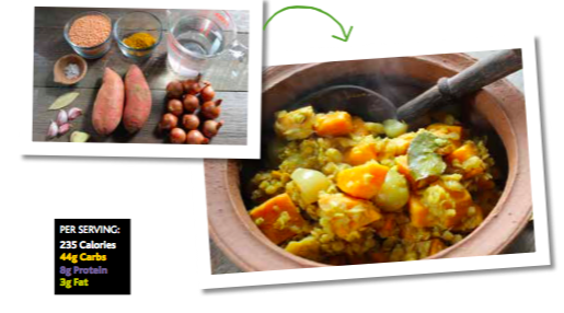 lentil and sweet potato curry - Inside out Personal Training